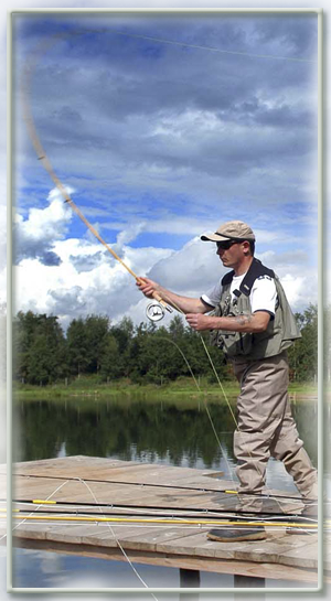 fly casting training